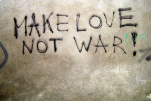 Make Love Not War (Prague)