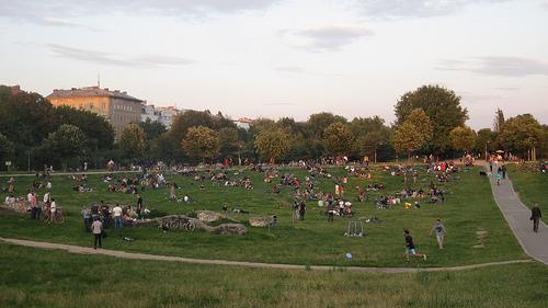Berlin's Görlitzer Park