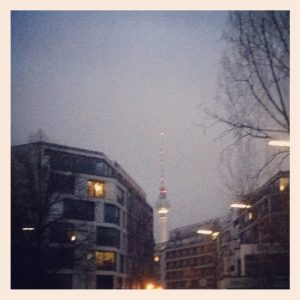 Berlin's TV tower