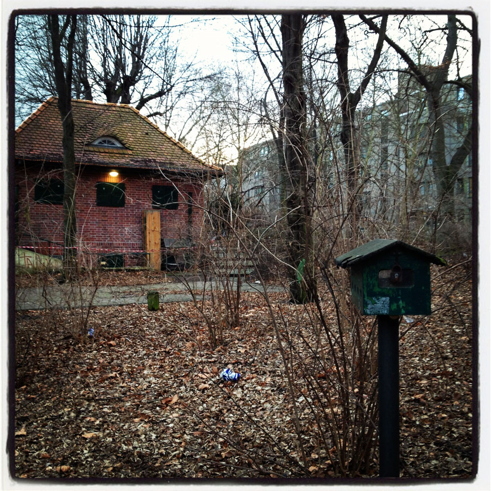 Birdhouse in Berlin park