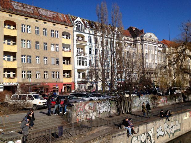 Maybachufer Canal, Kreuzberg, Berlin