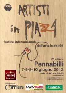 Artisti in Piazza (flyer)