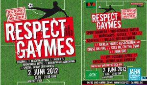 Respect Gaymes flyer