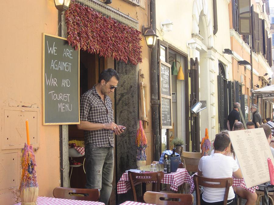 trastevere - hipster rome