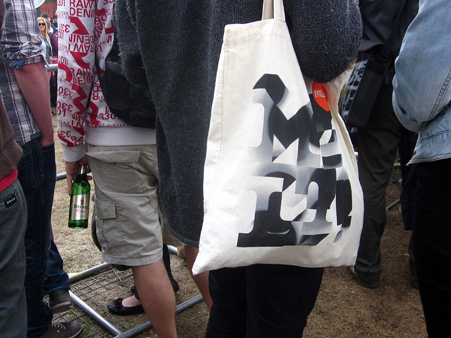 berlin hipster - tote bag design