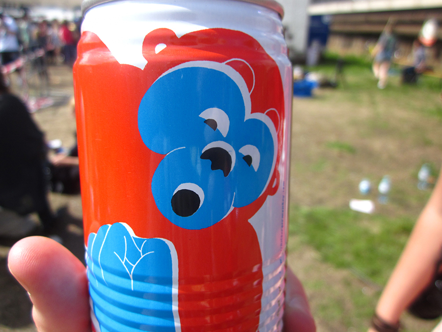 funny monkey drink at the olympics