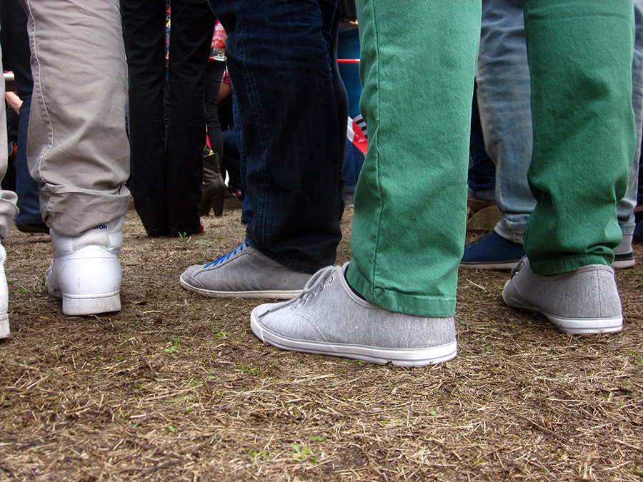 hipster shoes, bright colored pants