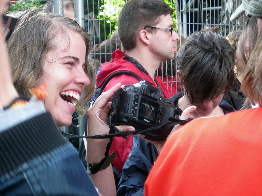 Bruges indie music festival - fun crowd