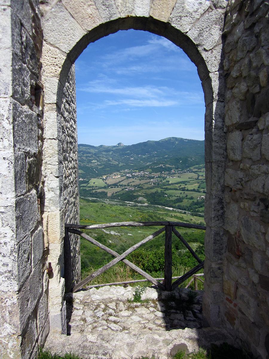 medieval village italy (emilia-romagna)