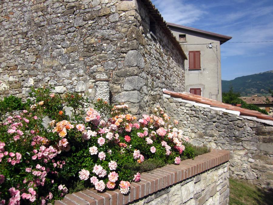 medieval village italy