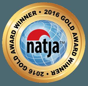 2016 Gold Award Winner - North American Travel Journalists Association