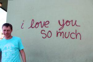 I love you so much (Austin graffiti)