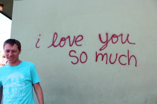 I love you so much (Austin graffiti)