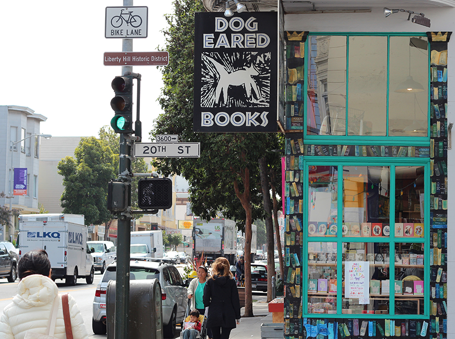 indie bookshop in San francisco