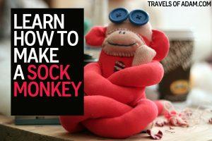 How to make a sock monkey
