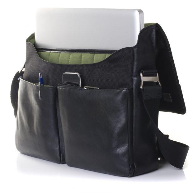 knomo laptop messenger bag (photo)