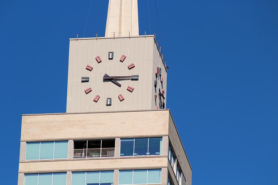 Dallas clock tower