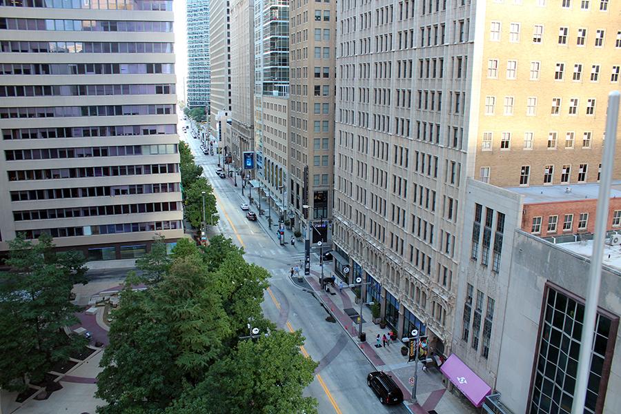 Downtown Dallas street
