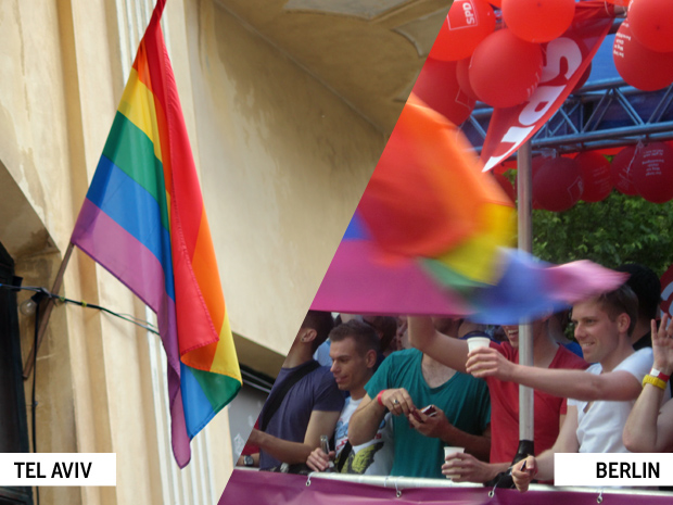 Gay Israel & Berlin