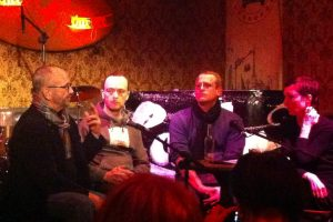 Gay rights panel discussion in Berlin