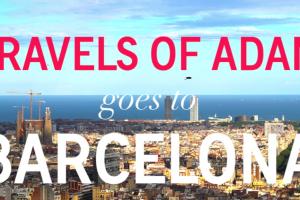 Barcelona travel video