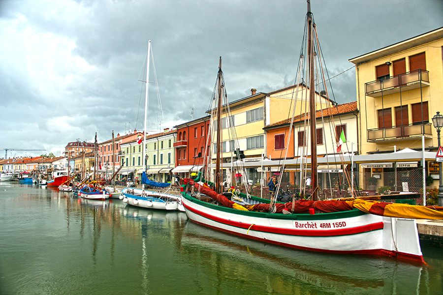 Cesenatico (rainy day)