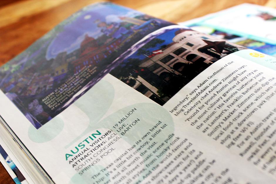 USA Today 2013 Summer Travel Magazine