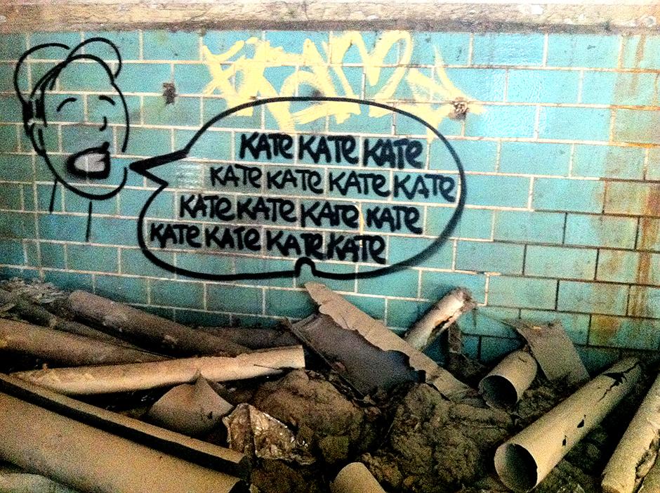 Abandoned Berlin graffiti