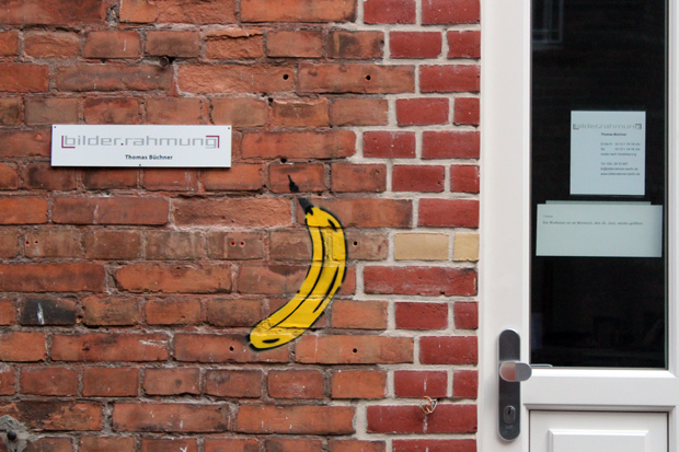 Warhol banana in Berlin
