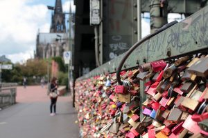 Cologne Love Lock Bridge