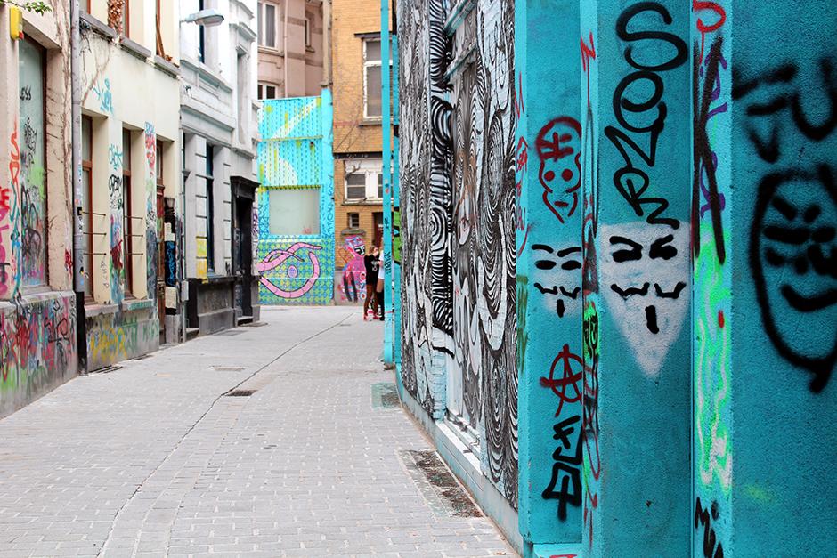 Street Art in Antwerp