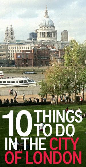 Things To Do - City of London