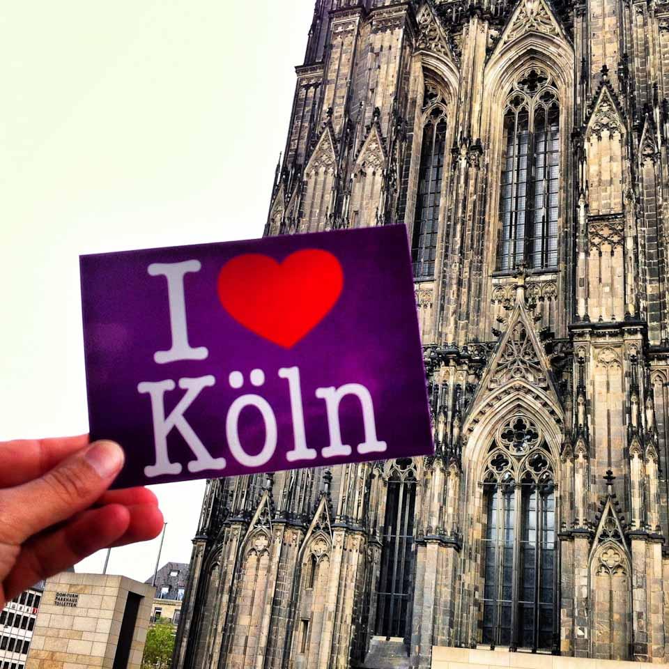 I love Cologne