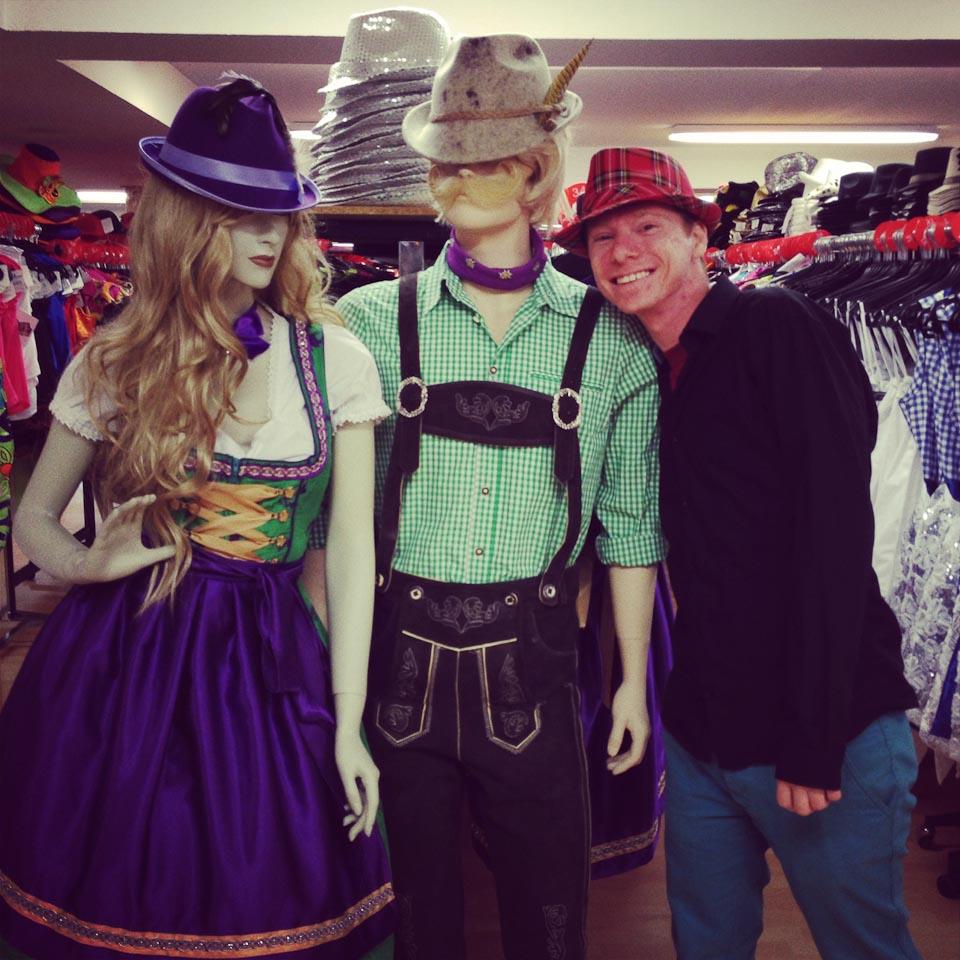 Carnival costume shopping