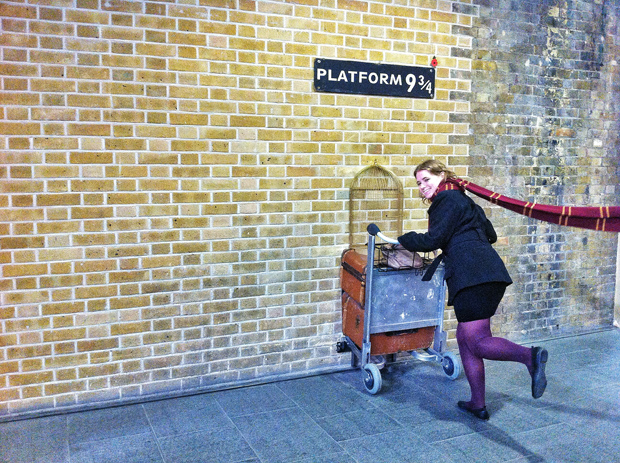 Kings Cross Harry Potter Platform