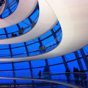 Roof of the Berlin Reichstag