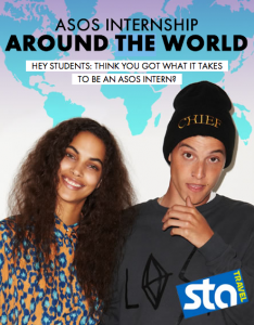 Win an around-the-world internship with ASOS & STA Travel