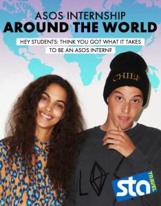 Win an around-the-world internship with ASOS & STA Travel