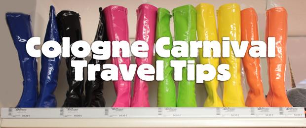 Cologne Carnival Travel Tips - Köln Karneval 2014