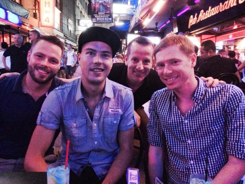 Bangkok Gay Nightlife in Silom Soi 4