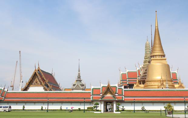 Thailand Grand Palace in Bangkok