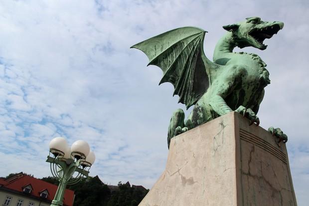 Ljubljana - Dragon Bridge