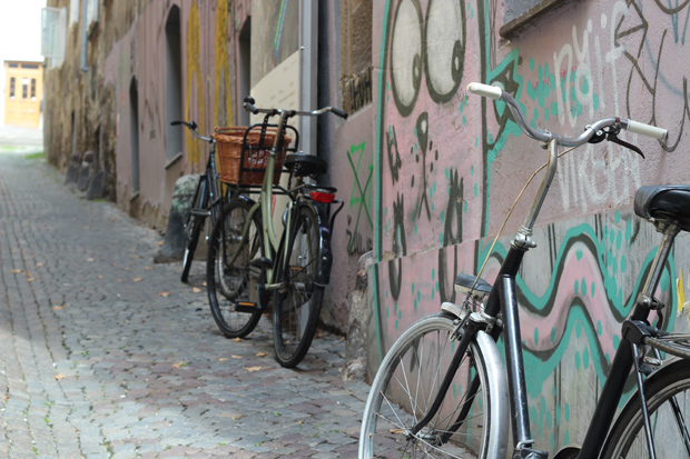 Biking in Ljubljana
