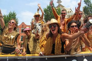 Gay Pride in Amsterdam - Canal Parade 2014