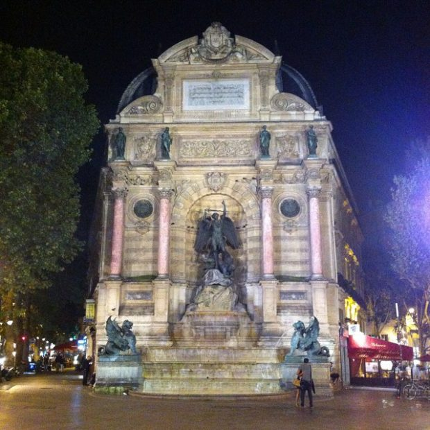 Fontaine Saint Michel, Paris