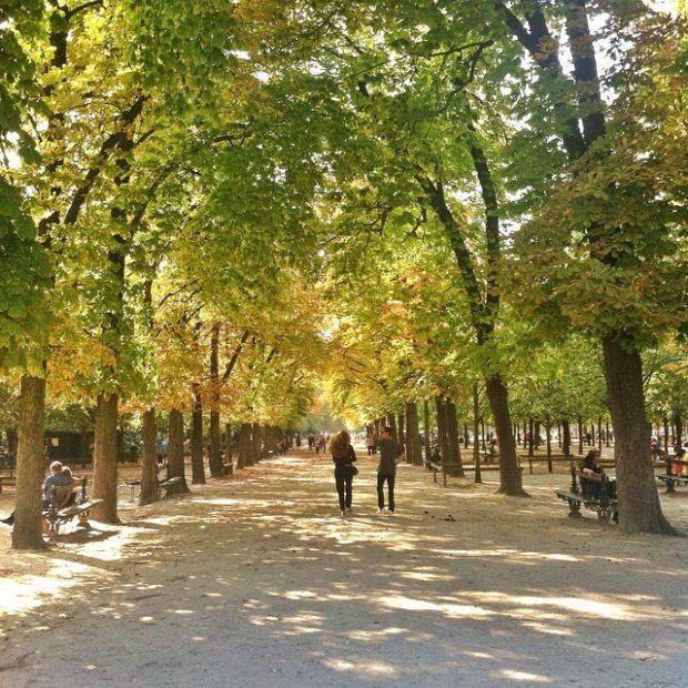 Jardin du Luxeumbourg gardens
