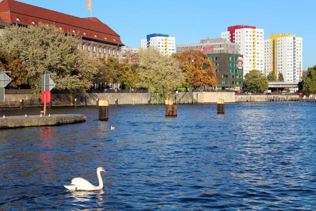 Berlin riverside