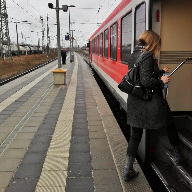 Train to Szczecin, Poland