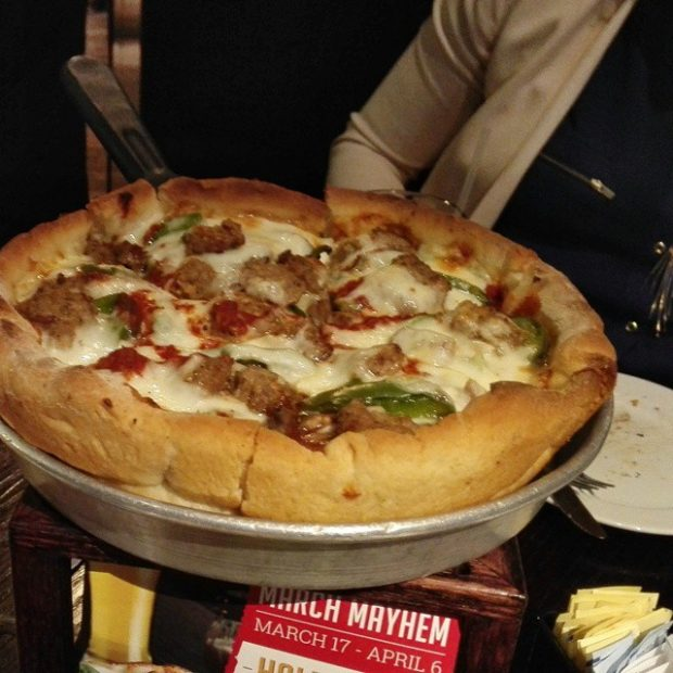 Connie's Deep Dish Pizza