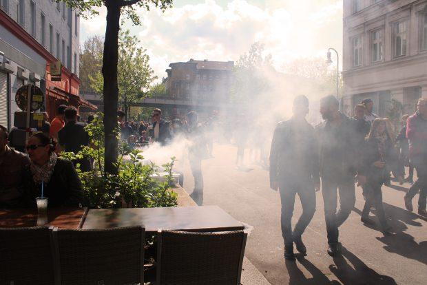 Kreuzberg Berlin May 1st